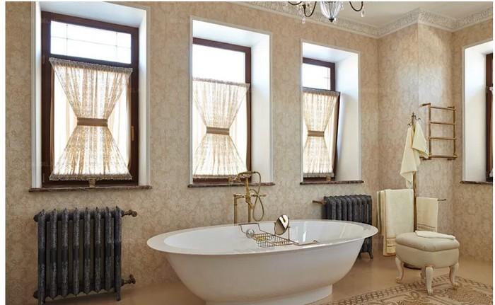 Ванная комната во французском стиле Ванная комната Ванная комната во французском стиле           2 1