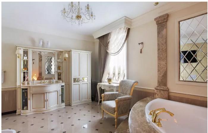 Ванная комната во французском стиле Ванная комната Ванная комната во французском стиле           3 1