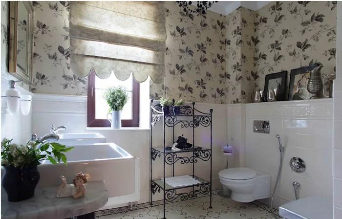 Ванная комната во французском стиле Ванная комната Ванная комната во французском стиле           4 1