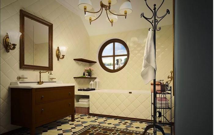 Ванная комната во французском стиле Ванная комната Ванная комната во французском стиле           5 1