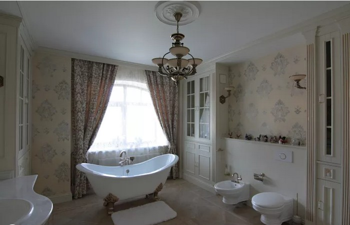 Ванная комната во французском стиле Ванная комната Ванная комната во французском стиле           6 1