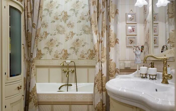 Ванная комната во французском стиле Ванная комната Ванная комната во французском стиле           7 1