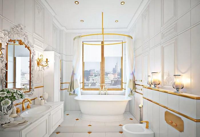 Ванная комната во французском стиле Ванная комната Ванная комната во французском стиле           8 1