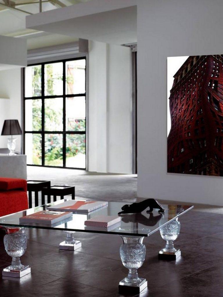 стеклянные журнальные столы стеклянные журнальные столы 10 Современных стеклянных журнальных столиков для гостиной комнаты 10 Modern Glass Coffee Tables For Your Living Room7