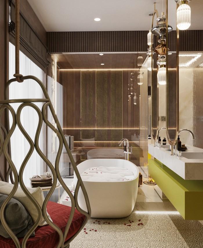 дизайн апартаментов Современный дизайн апартаментов в Санкт-Петербурге 15ca0853496311