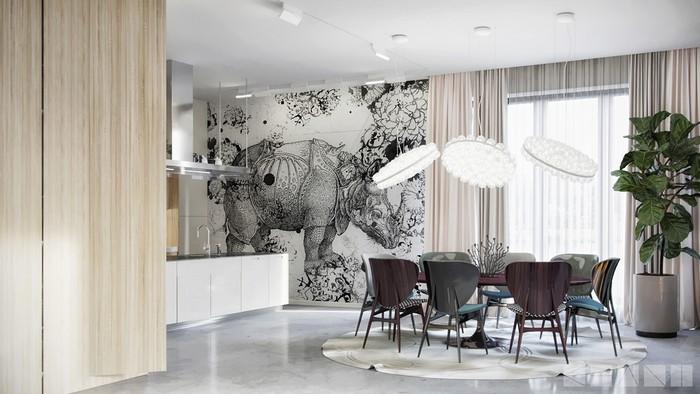 дизайн-проект дизайн-проект Роскошная Атмосфера - дизайн-проект киевской студии KHANI design 6e7aed54739889