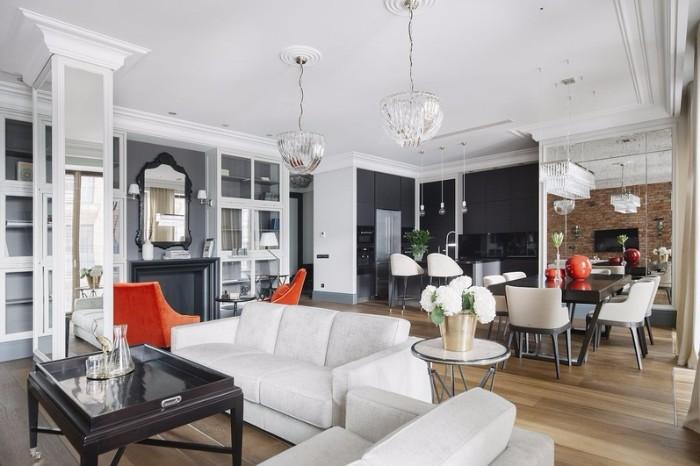 Элегантный интерьер квартиры от Кристины Изотовой