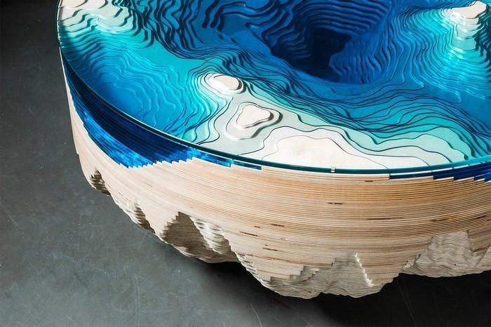 Кристофер Даффи Откройте для себя невероятные столики от Кристофера Даффи Discover Abyss Horizon by Christopher Duffy4