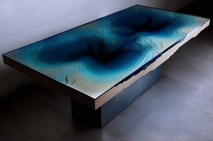 Кристофер Даффи Кристофер Даффи Откройте для себя невероятные столики от Кристофера Даффи Discover Abyss Horizon by Christopher Duffy9