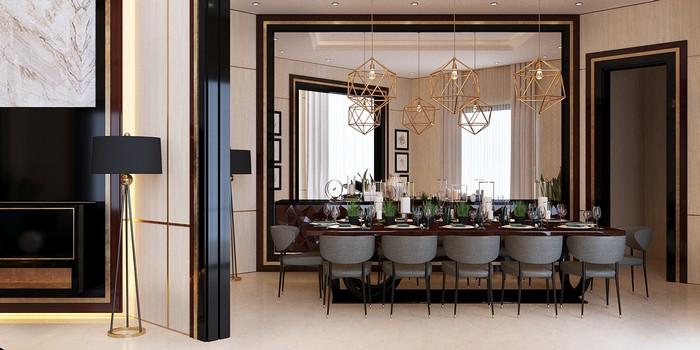 Ретро стиль в интерьере Ретро стиль в интерьере: роскошный дом в Катаре b5658353482219