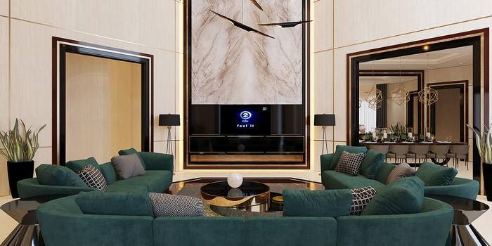 Ретро стиль в интерьере Ретро стиль в интерьере Ретро стиль в интерьере: роскошный дом в Катаре cfe39153482219