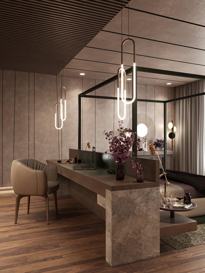 дизайн апартаментов Современный дизайн апартаментов в Санкт-Петербурге f578c353496311