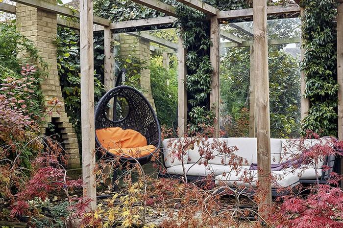 Зимний сад в сердце Лондона