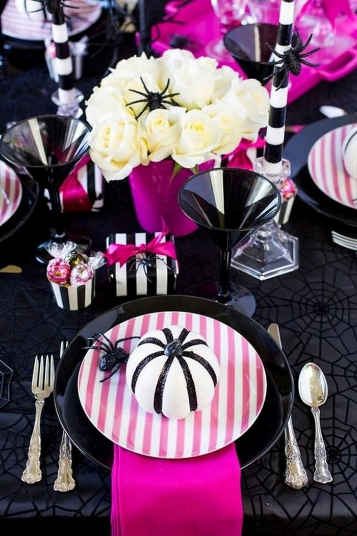 декорирование столов на хэллоуин 10 идей как украсить стол на Хэллоуин 10                                                                                               1