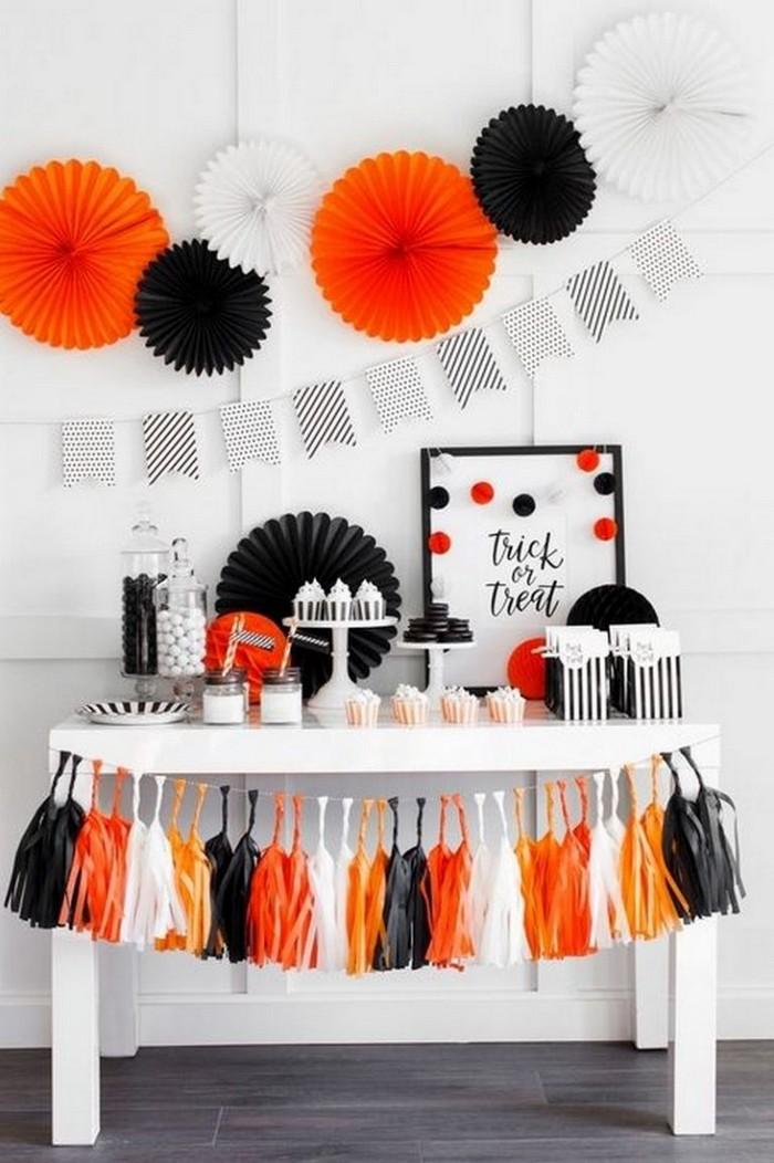 декорирование столов на хэллоуин 10 идей как украсить стол на Хэллоуин 10                                                                                               2