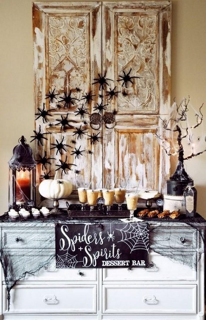 декорирование столов на хэллоуин 10 идей как украсить стол на Хэллоуин 10                                                                                               5