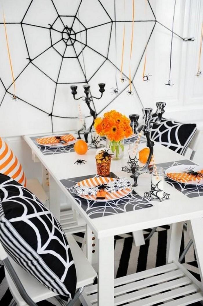 декорирование столов на хэллоуин 10 идей как украсить стол на Хэллоуин 10                                                                                               6