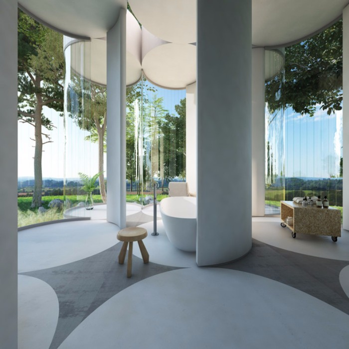 дом Невероятный дом из цилиндров в Лионе  Quality97  Quality97 10 1