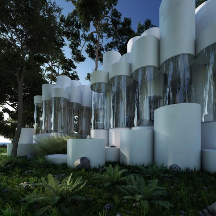 Невероятный дом из цилиндров в Лионе дом Невероятный дом из цилиндров в Лионе  Quality97  Quality97 3 1