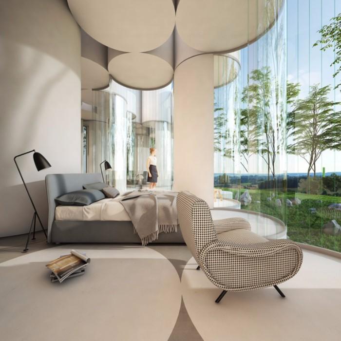 дом Невероятный дом из цилиндров в Лионе  Quality97  Quality97 6 1