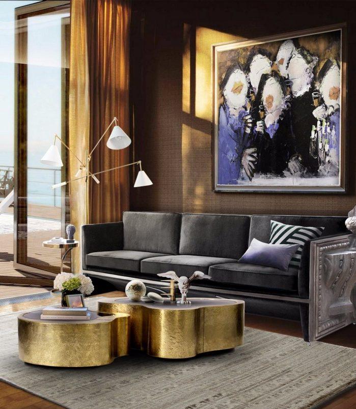 журнальные столики Лучшие журнальные столы для осеннего дизайна гостиной Best Coffee Tables to Redesign your living room for Fall10 e1502190296262