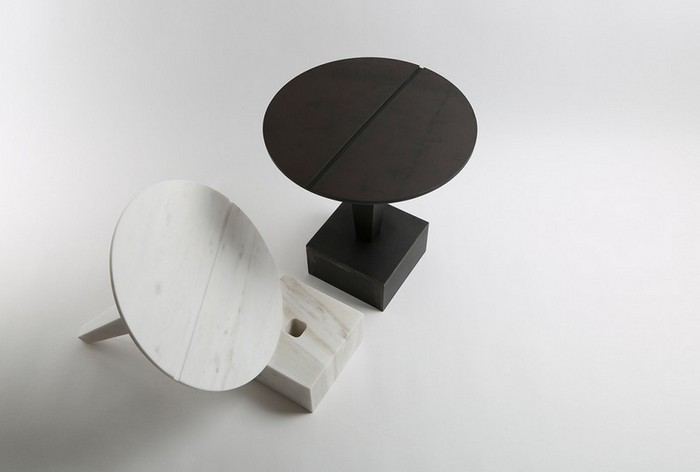 маленькие боковые столики маленькие боковые столики Миниатюрные боковые столики от Ричарда Ясмина Nail Shaped Side Tables by Richard Yasmine4