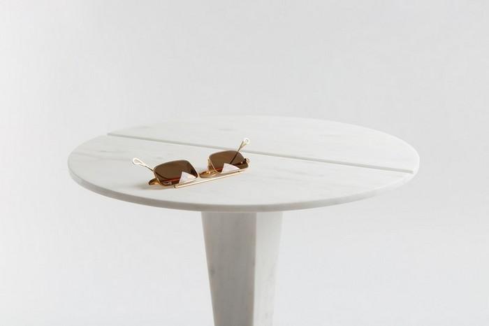 маленькие боковые столики Миниатюрные боковые столики от Ричарда Ясмина Nail Shaped Side Tables by Richard Yasmine8