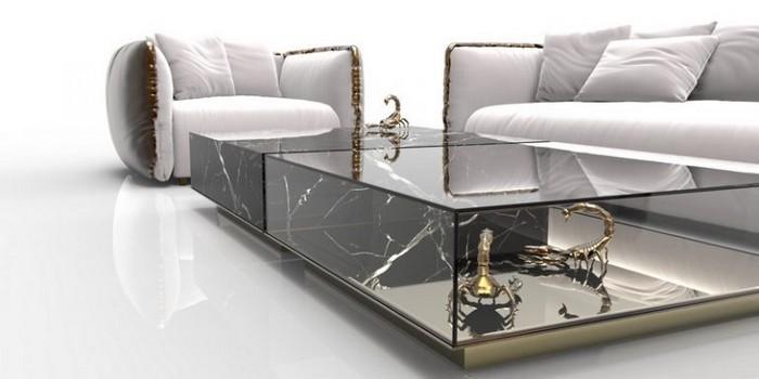 мраморные журнальные столики Топ-10 эксклюзивных мраморных журнальных столиков Top 10 exclusive marble coffee tables13 e1502712380569  1