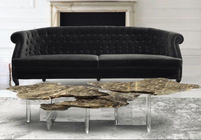 металлические журнальные столики Топ-10 современных металлических журнальных столиков Top 10 modern metallic coffee tables14 1 e1502204104214
