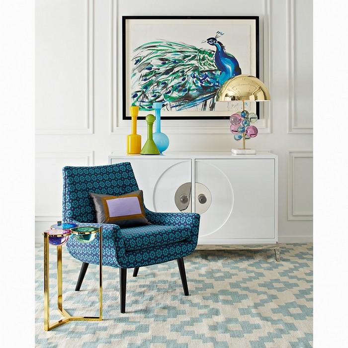 угловых столиков Удивительный дизайн современных угловых столиков от Джонатана Адлера Amazing Modern Side Tables By Jonathan Adler1