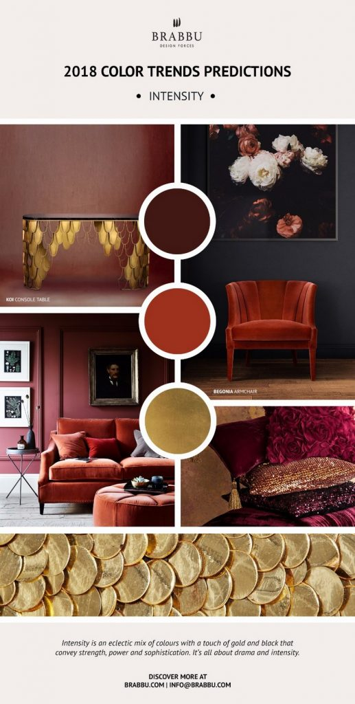 8 новых палитр 8 новых палитр PANTONE 2018: Создаем уникальный интерьер Decorate Your Interiors Using Pantones 2018 Colour Trends Predictions 3 1