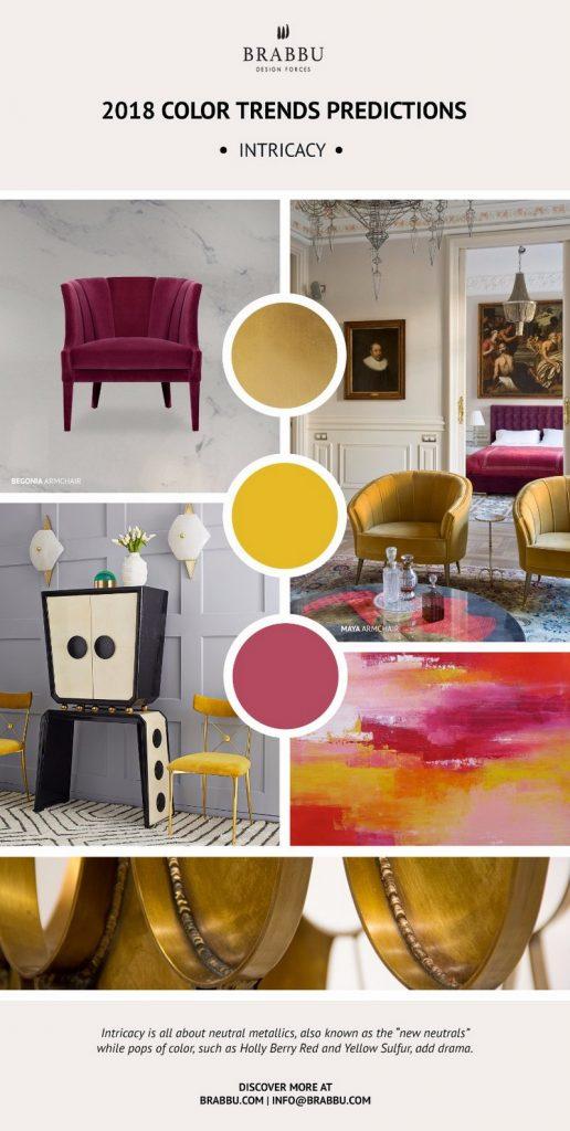 8 новых палитр 8 новых палитр PANTONE 2018: Создаем уникальный интерьер Decorate Your Interiors Using Pantones 2018 Colour Trends Predictions 4 1
