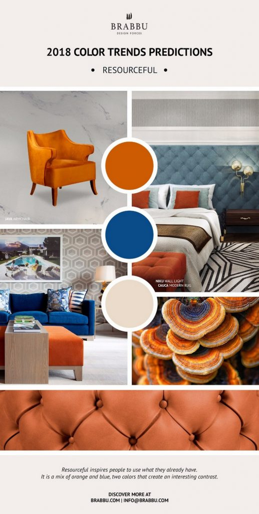 8 новых палитр 8 новых палитр PANTONE 2018: Создаем уникальный интерьер Decorate Your Interiors Using Pantones 2018 Colour Trends Predictions 6 1