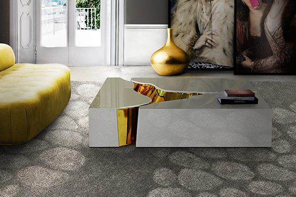 белые журнальные столики Роскошные белые журнальные столики Lapiaz White e1505481715760