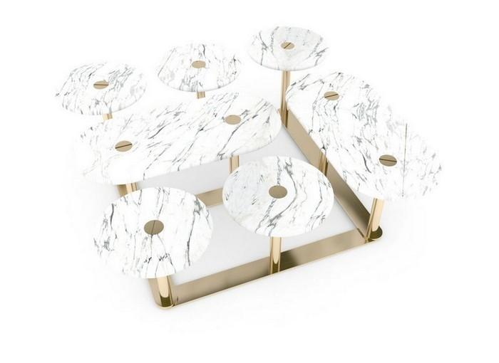 стильные журнальные столики Стильные журнальные столики знаменитого дизайнера Лорана Мюллера Stylish Coffee Tables By Famous Designer Laurent Muller11