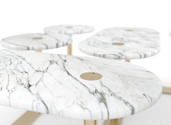 стильные журнальные столики Стильные журнальные столики знаменитого дизайнера Лорана Мюллера Stylish Coffee Tables By Famous Designer Laurent Muller12