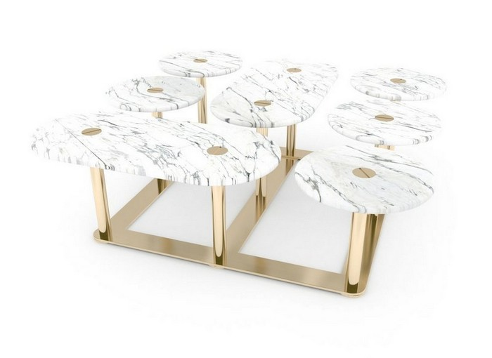 стильные журнальные столики Стильные журнальные столики знаменитого дизайнера Лорана Мюллера Stylish Coffee Tables By Famous Designer Laurent Muller13