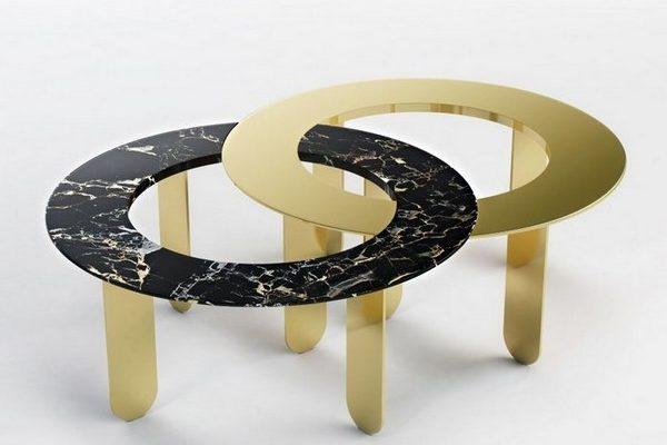 стильные журнальные столики Стильные журнальные столики знаменитого дизайнера Лорана Мюллера Stylish Coffee Tables By Famous Designer Laurent Muller16 e1504709021921 600x400