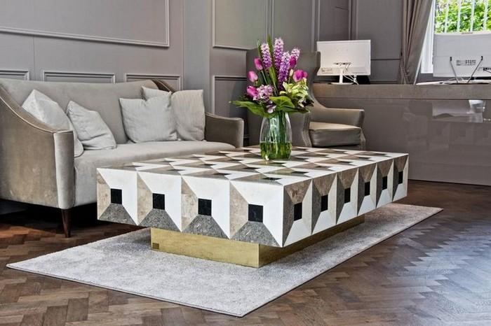 белые журнальные столики Роскошные белые журнальные столики Top 8 Luxurious White Coffee Tables3