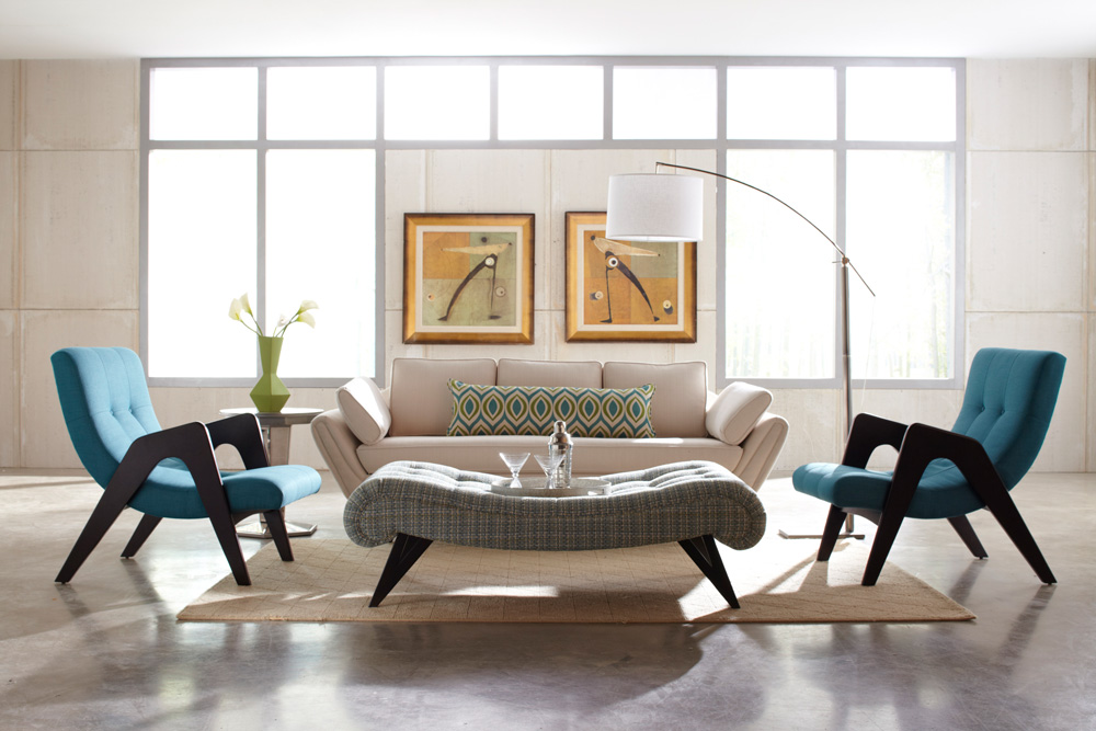 ретро 10 самых стильных ретро-спален retro mid century style interior design 6