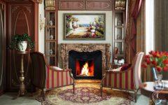 сделать дом уютным Как сделать дом уютным и теплым Gostinaya s kaminom 52 e1508422750446 240x150