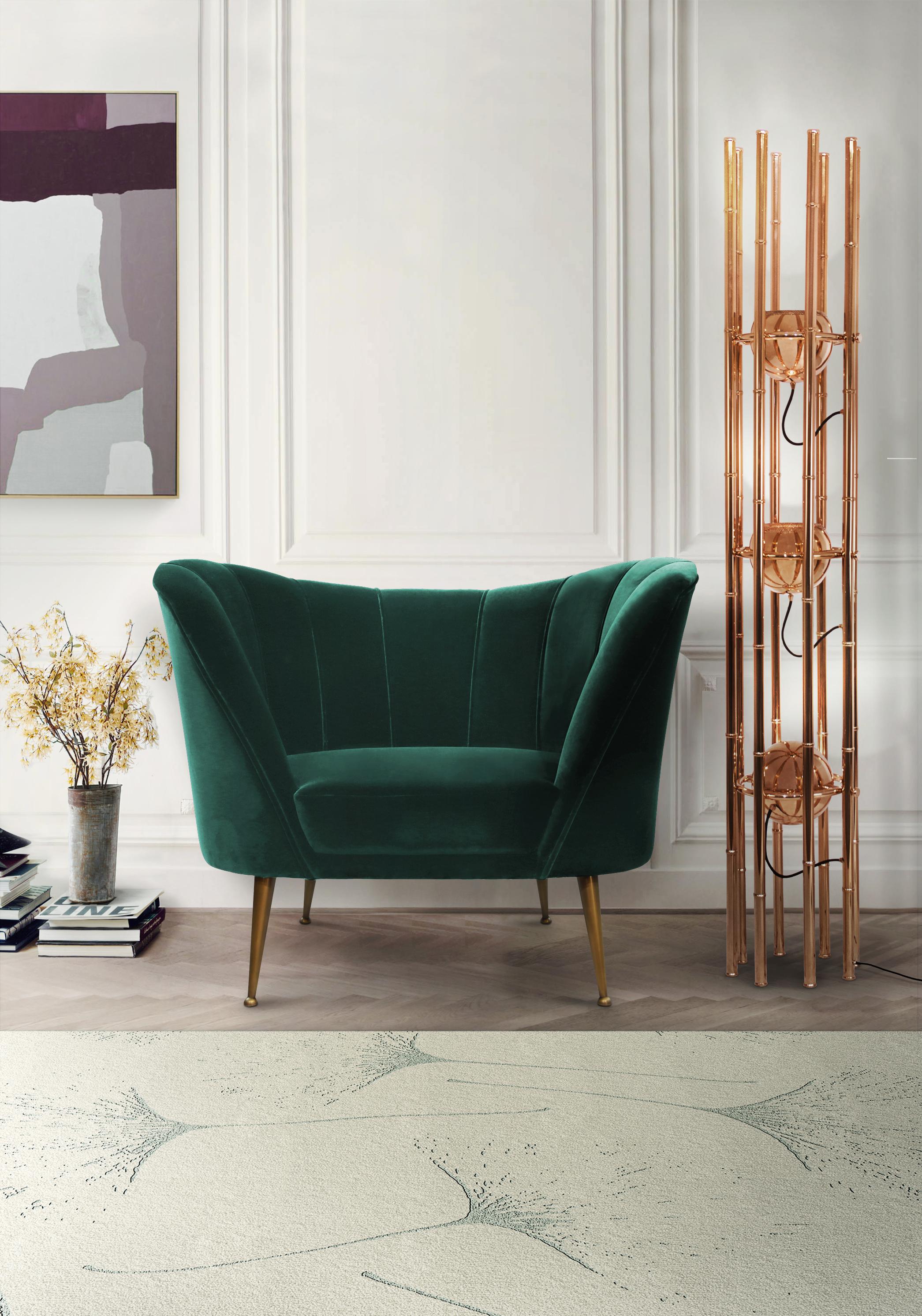 Зеленый Зеленый Зеленый в интерьере: наиболее выигрышные варианты brabbu ambience press 59 HR