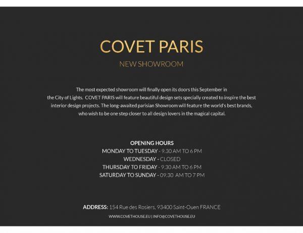 Covet Paris: познакомьтесь с последним и самым эксклюзивным парижским салоном