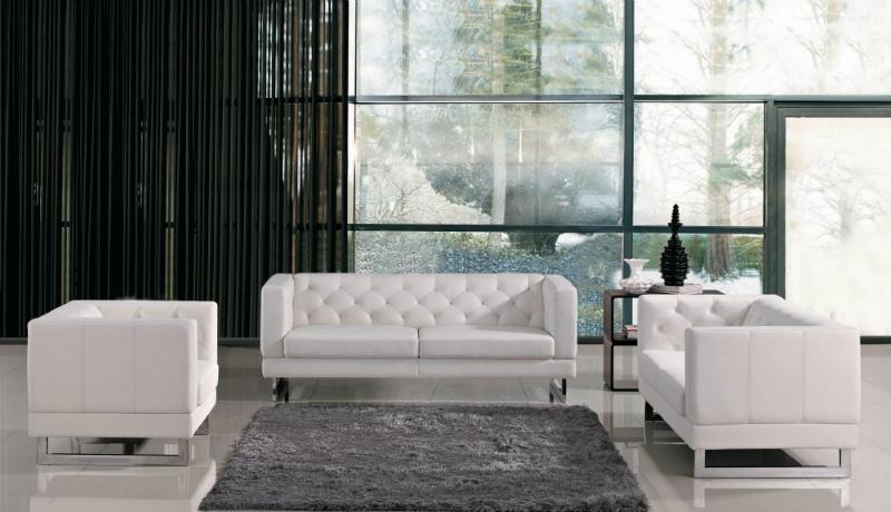 белых диванов белых диванов 6 белых диванов, которые заставят Ваш интерьер засиять по-новому 6 white sofas that will make your living room Interior Design Brighter