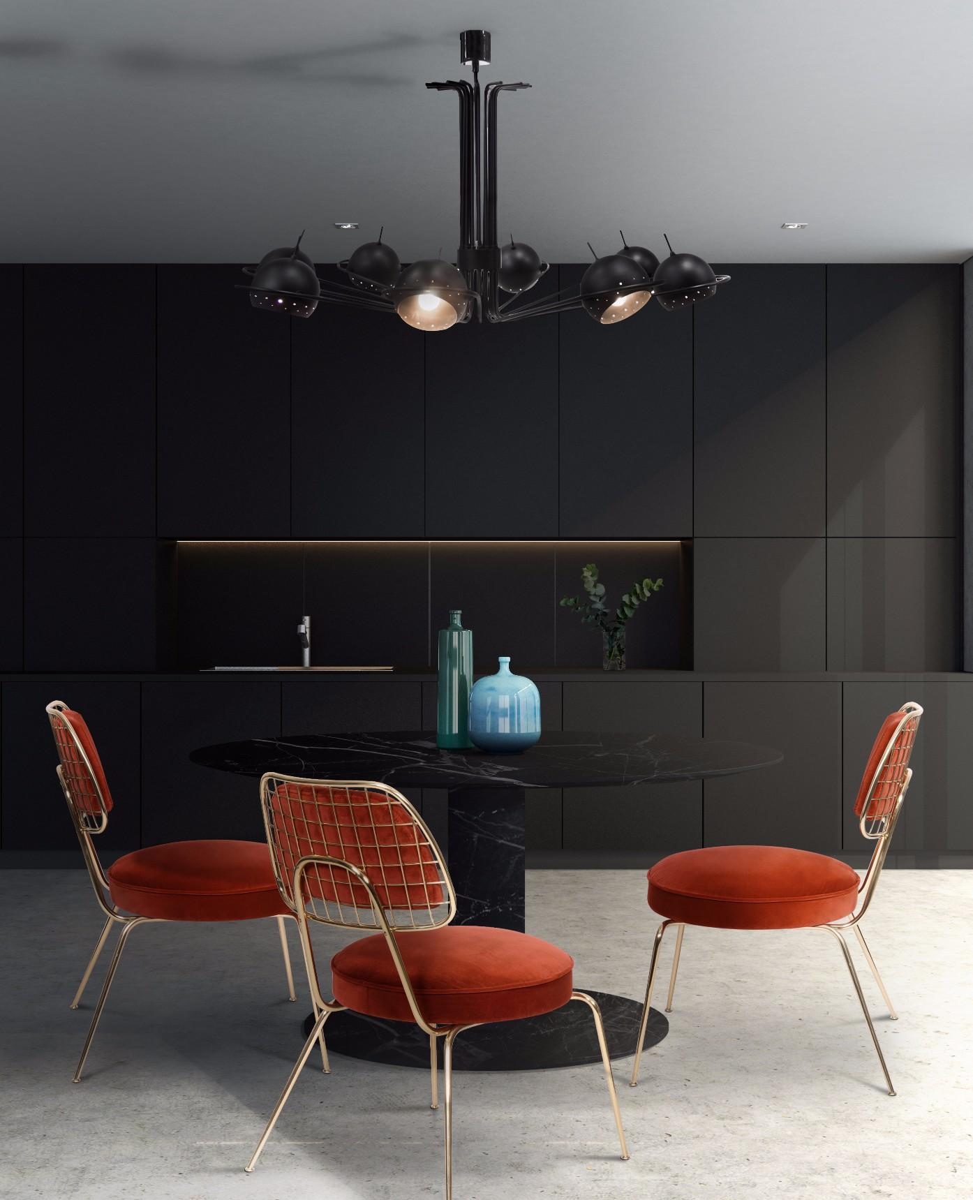 современный дизайн Декоративный свет в стиле MID-CENTURY это прекрасное дополнения к вашему интерьеру neil suspension ambience 05 HR
