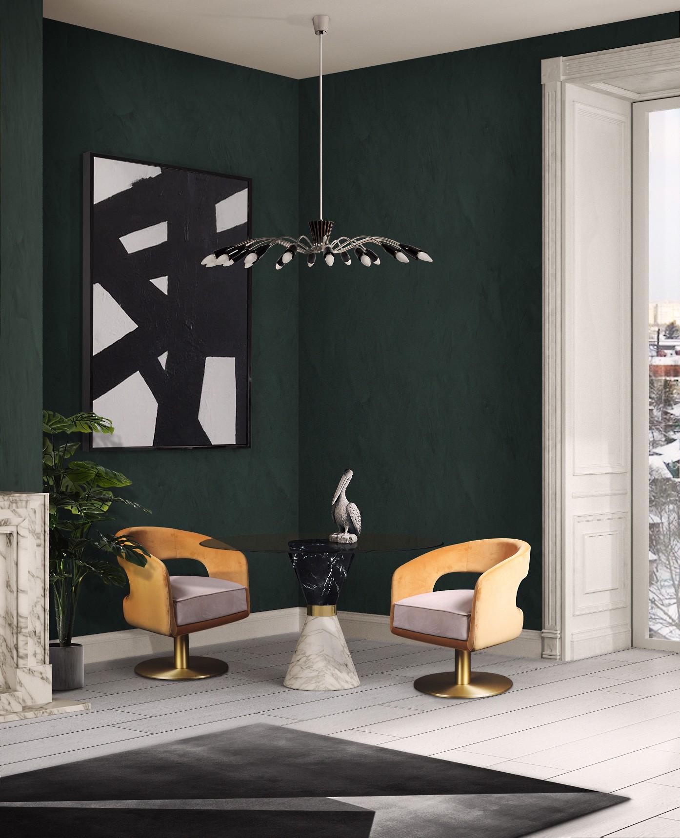 современный дизайн Декоративный свет в стиле MID-CENTURY это прекрасное дополнения к вашему интерьеру norah suspension ambience 02 HR