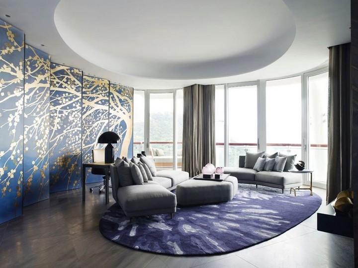 идей дизайна гостиных 15 изящных и современных идей дизайна гостиных комнат 1