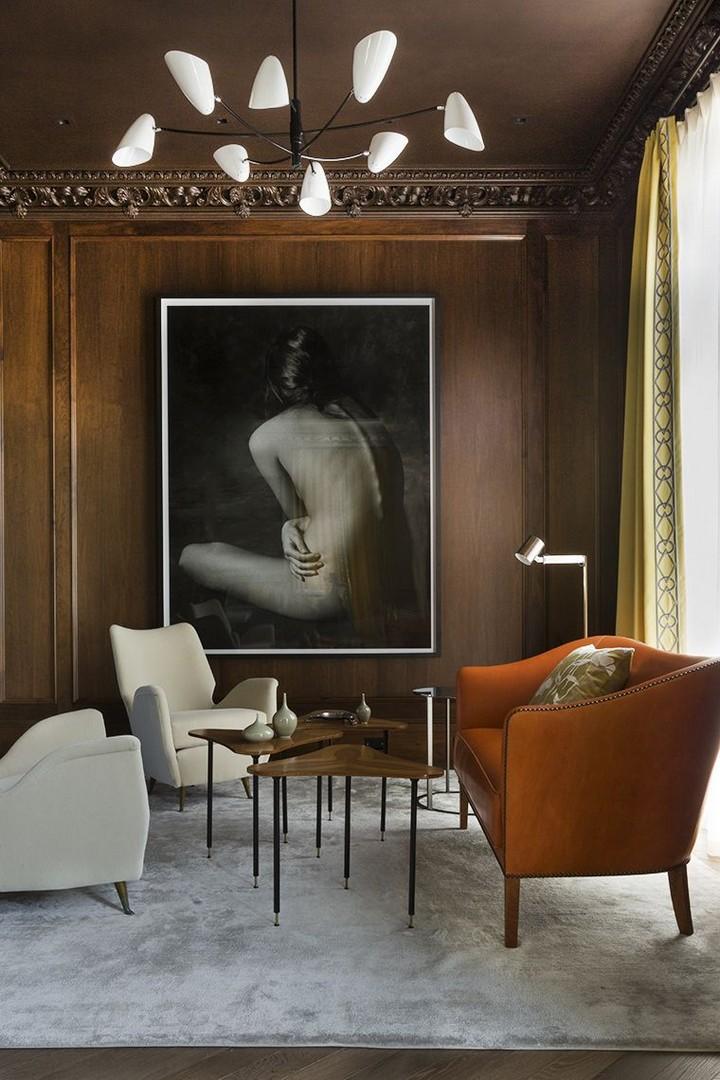 идей дизайна гостиных 15 изящных и современных идей дизайна гостиных комнат 8