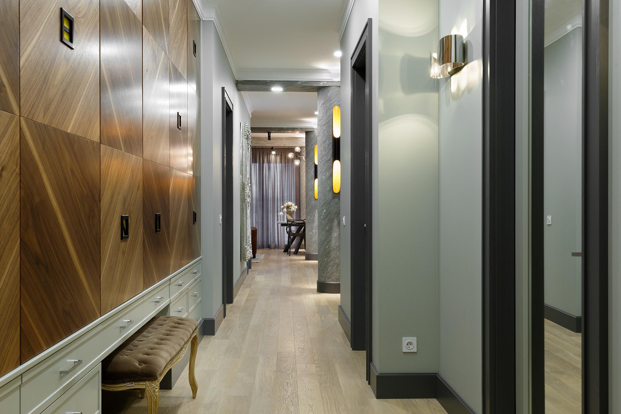 эклектика Сергей Клочков создал невероятный дизайн квартиры при  участии лучших брендов novocherkasskiy33 04