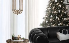 Украсьте свой новогодний интерьер уникальными золотыми светильниками